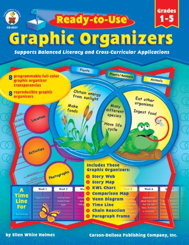 Ready-to-Use Graphic Organizers, Grades 1 - 5: Supports Balanced Literacy and Cross-Curricular ...