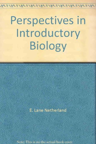 Perspectives In Introductory Biology-Laboratory Observations And Evaluations, Seventh Edition: ...