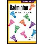 9780887252839: Badminton everyone (The everyone series)