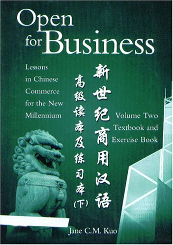 9780887273599: Open for Business-Vol. 2: Lessons in Chinese Commerce for the New Millennium