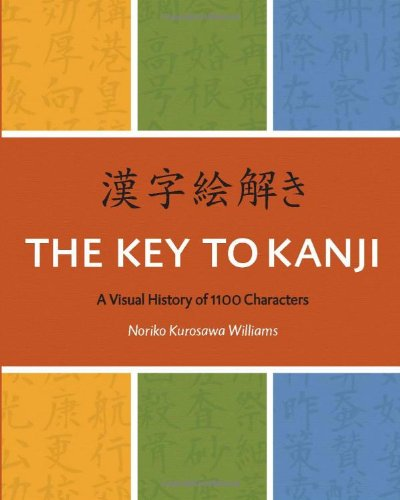 9780887277368: The Key To Kanji: A Visual History of 1100 Characters (English and Japanese Edition)