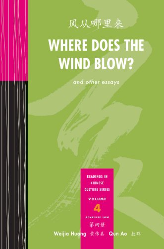 9780887278815: Where Does the Wind Blow?: And Other Essays: Advanced Low (Readings in Chinese Culture) (Chinese Edition)