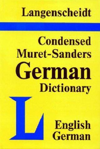9780887290060: Langenscheidt's Condensed Muret-Sanders English-German Dictionary