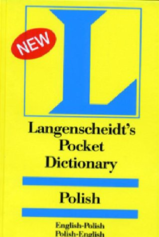 Langenscheidt's Pocket Polish Dictionary: English-Polish/Polish-English (0887290175) by Langenscheidt Staff