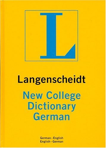 New College German Dictionary Plain (Langenscheidt New College Dictionary) (0887290205) by Langenscheidt; Langenscheidt Editorial