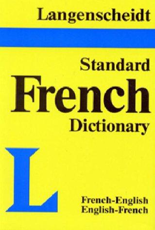 9780887290558: Langenscheidt's Standard French Dictionary: French-English, English-French (English and French Edition)
