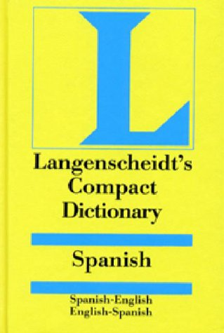 9780887290695: Langenscheidt's Compact Dictionary: Spanish/English English/Spanish
