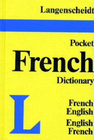 9780887291043: Langenscheidt's Pocket French Dictionary: French-English, English-French (Vinyl Edition)