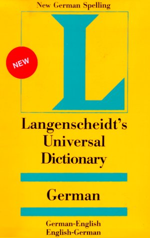 Langenscheidt's Universal German Dictionary: German-English English-German: Holger Freese, Helga
