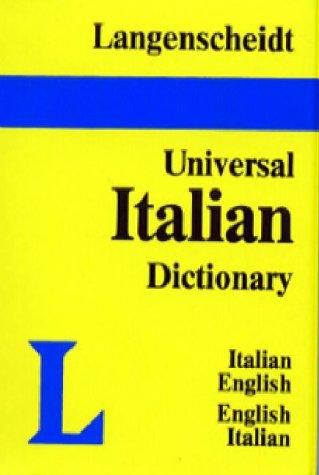 9780887291630: Langenscheidt's Universal Dictionary Italian-English English Italian: English-Italian Italian-English