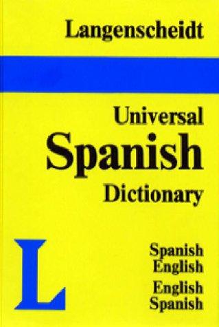 9780887291661: Langenscheidt's Universal Dictionary - Spanish