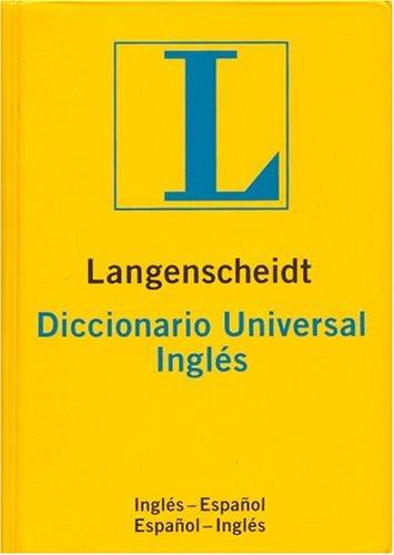 9780887291685: Langenscheidt Diccionario Universal Ingles-Espanol Espanol-Ingles = Langenscheidt's Universal Dictionary English-Spanish Spanish-English (Spanish Edition)