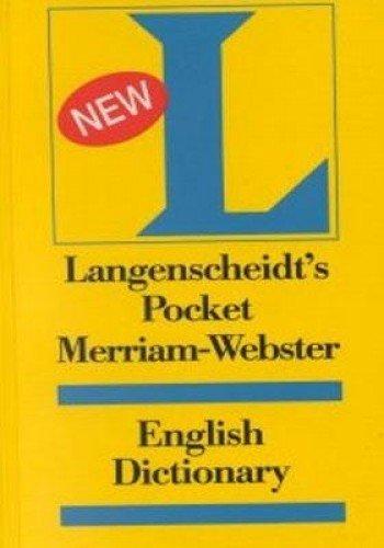 9780887291999: Langenscheidt's Pocket Dictionary Merriam-Webster English (Langenscheidt Pocket Dictionaries)