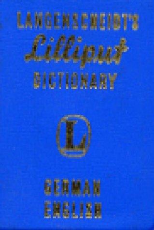 9780887294037: Langenscheidt's Lilliput Dictionary German/English