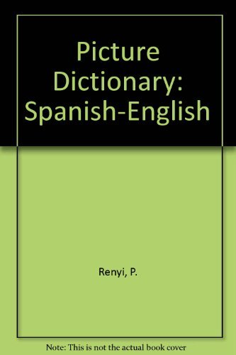 9780887298547: Langenscheidt Picture Dictionary: Spanish/English (English and Spanish Edition)