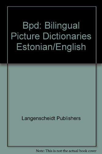 9780887298745: Langenscheidt Picture Dictionary Estonian