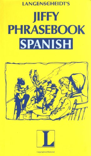 Spanish, Jiffy Phrasebook