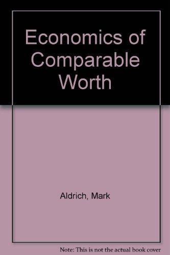 9780887300738: Economics of Comparable Worth
