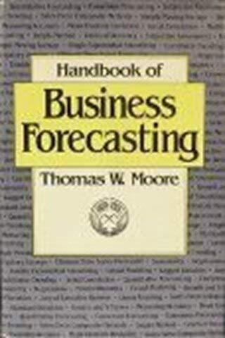 9780887303982: Handbook of business forecasting