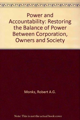 9780887305344: Power and Accountability