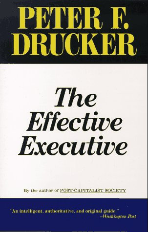 9780887306129: The Effective Executive