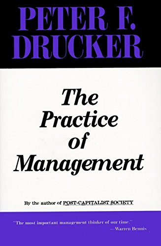 9780887306136: Practice of Management, The