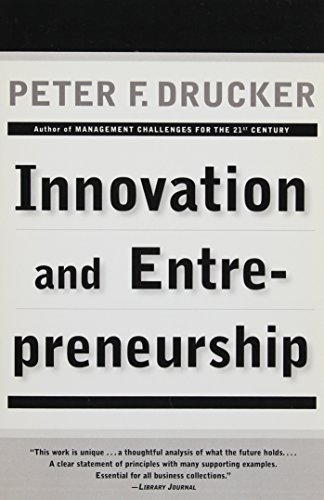 9780887306181: Innovation and Entrepreneurship: Practice and Principles