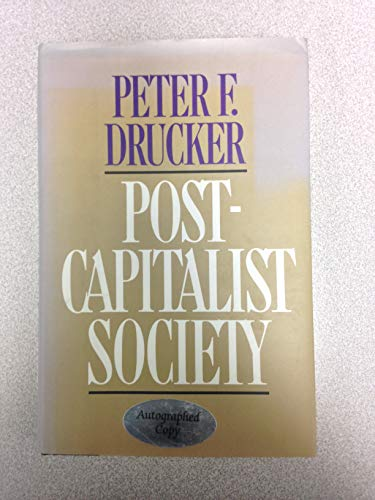 9780887306204: Post-Capitalist Society