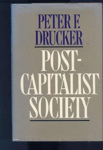 9780887306204: Post-Capitalist Society