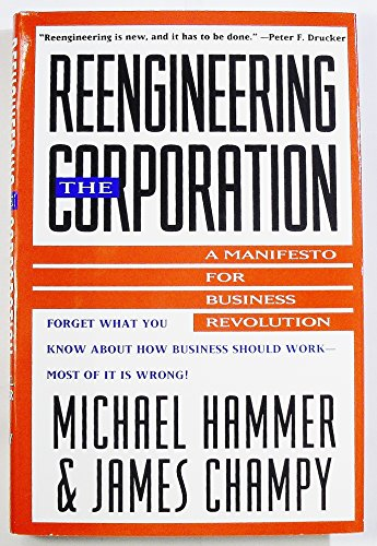 9780887306402: Reengineering the Corporation: A Manifesto for Business Revolution