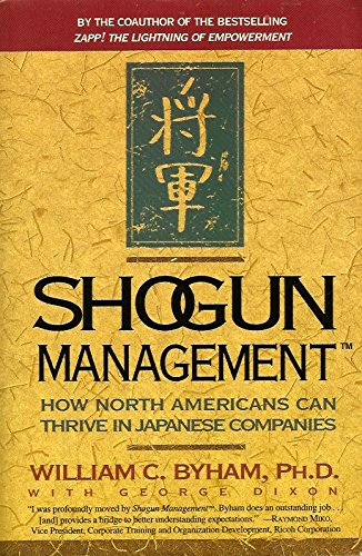 9780887306884: Shogun Management: How North Americans Can Thrive in Japanese Companies