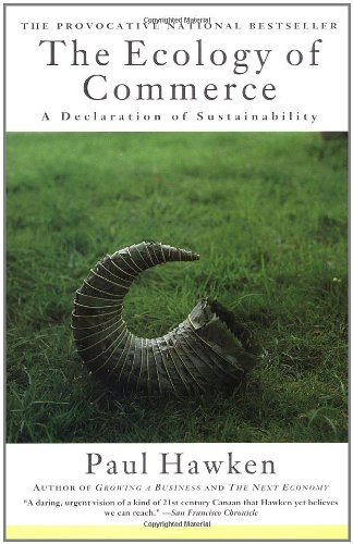 9780887307041: The Ecology of Commerce: A Declaration of Sustainability