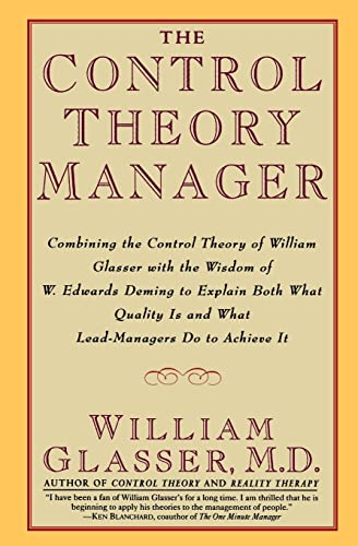 9780887307195: The Control Theory Manager