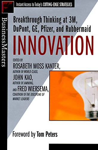 9780887307713: Innovation: Breakthrough Ideas at 3M, DuPont, GE, Pfizer, and Rubbermaid