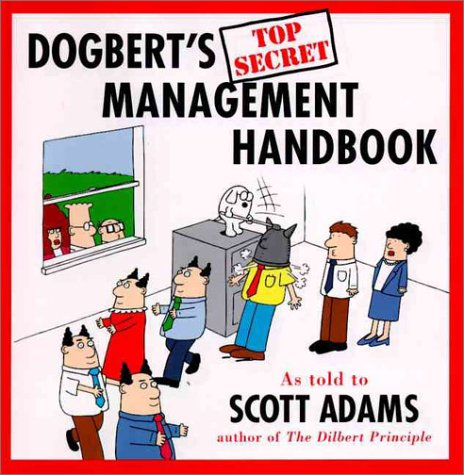 9780887307881: Dogbert's Top Secret Management Handbook