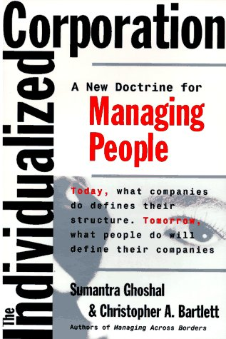 9780887308062: The Individualized Corporation: A Fundamentally New Approach to Management
