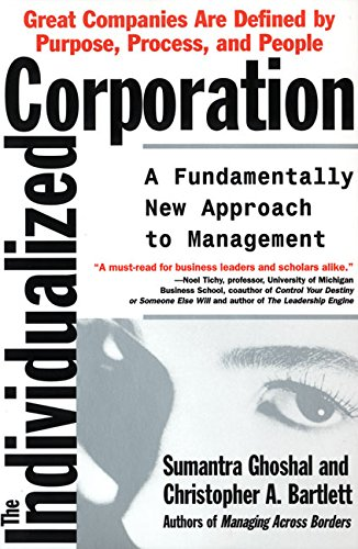 9780887308314: The Individualized Corporation: A Fundamentally New Approach to Management