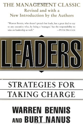 9780887308390: Leaders: The Strategies for Taking Charge