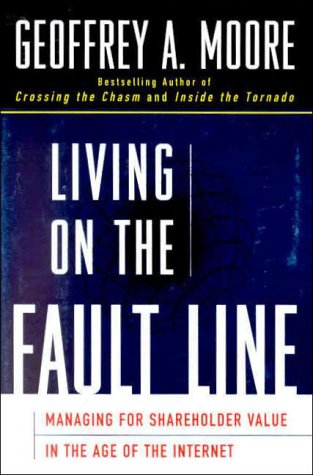9780887308888: Living on the Fault Line : Managing for Shareholder Value in the Age of the Internet