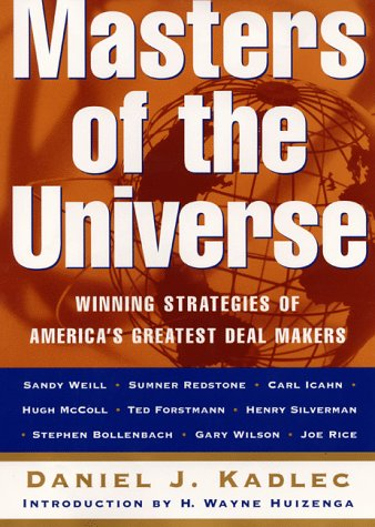 9780887309335: Masters of the Universe: Winning Strategies Of America's Greatest Deal Makers