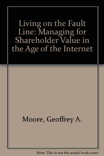 9780887309717: Living on the Fault Line: Managing for Shareholder Value in the Age of the Internet