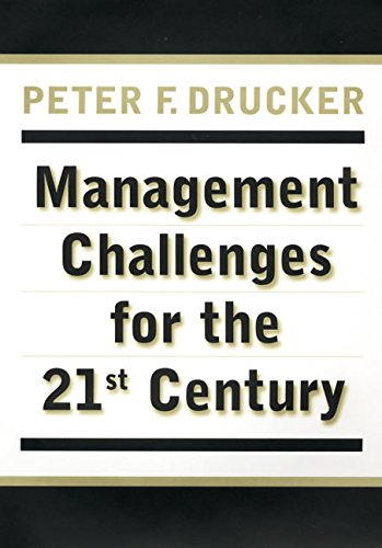 9780887309984: Management Challenges for the 21st Century
