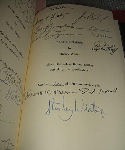 Dark Dreamers : Conversations with the Masters of Horror: Wiater, Stanley