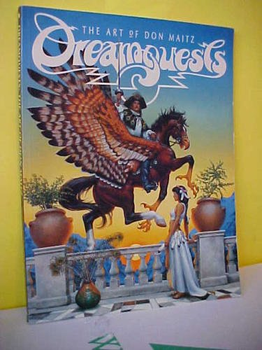 Dreamquests: The Art of Don Maitz: Don Maitz [Illustrator]; Raymond E. Feist [Introduction]; Janny ...