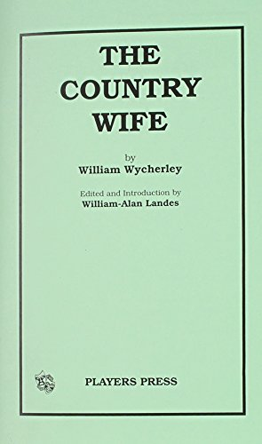 9780887345760: The Country Wife