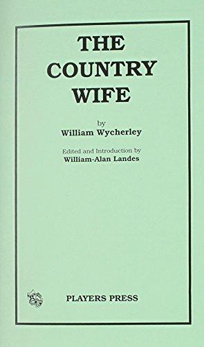 william wycherley the country wife summary