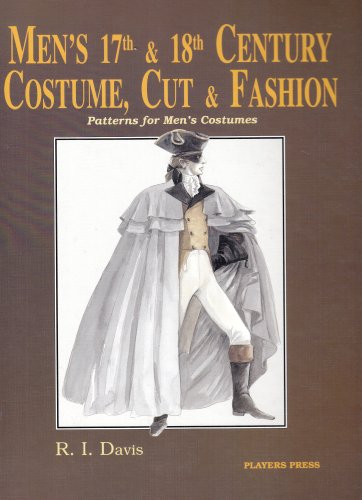 9780887346378: Men's Seventeenth & Eighteenth Century Costume: Cut and Fashion
