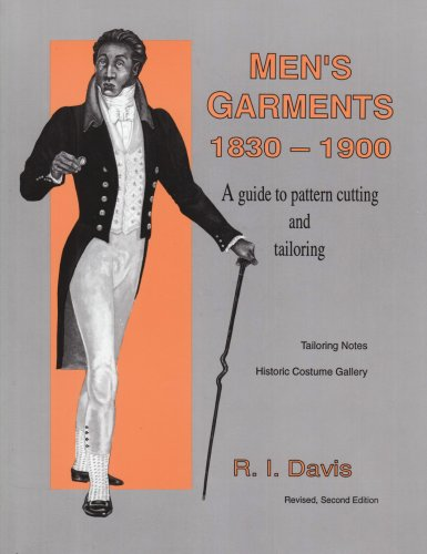 9780887346484: Men's Garments 1830-1900: A Guide to Pattern Cutting and Tailoring