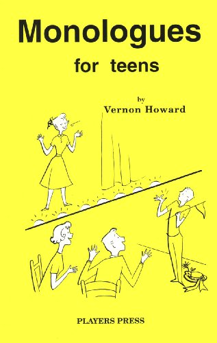 9780887346668: Monologues for Teens