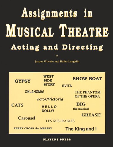 9780887346767: Assignments in Musical Theatre: Acting and Directing